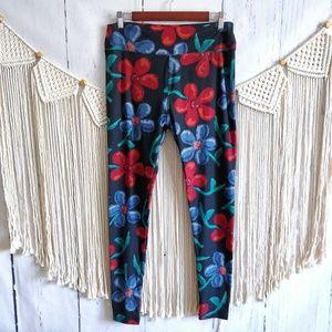 4/$15 Lularoe Hawaiian Floral TC Leggings